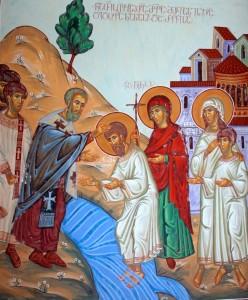 крещение грузин
